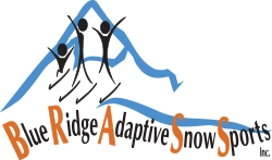 Blue Ridge Adaptive Snow Sports logo.